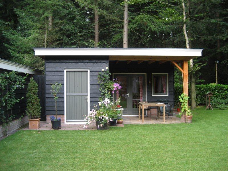 Luxe tuinhuis in Putten - Timmerbedrijf Hans Ernsten