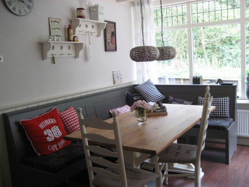 Hilversum - Moderne keukenbank ...